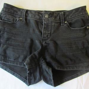 Blue Spice Black Shorts